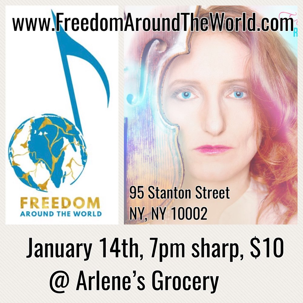 Watch selections of a few songs I performed of my solo show world premiere 1/14/2019 @ Arlene's Grocery in NYC
