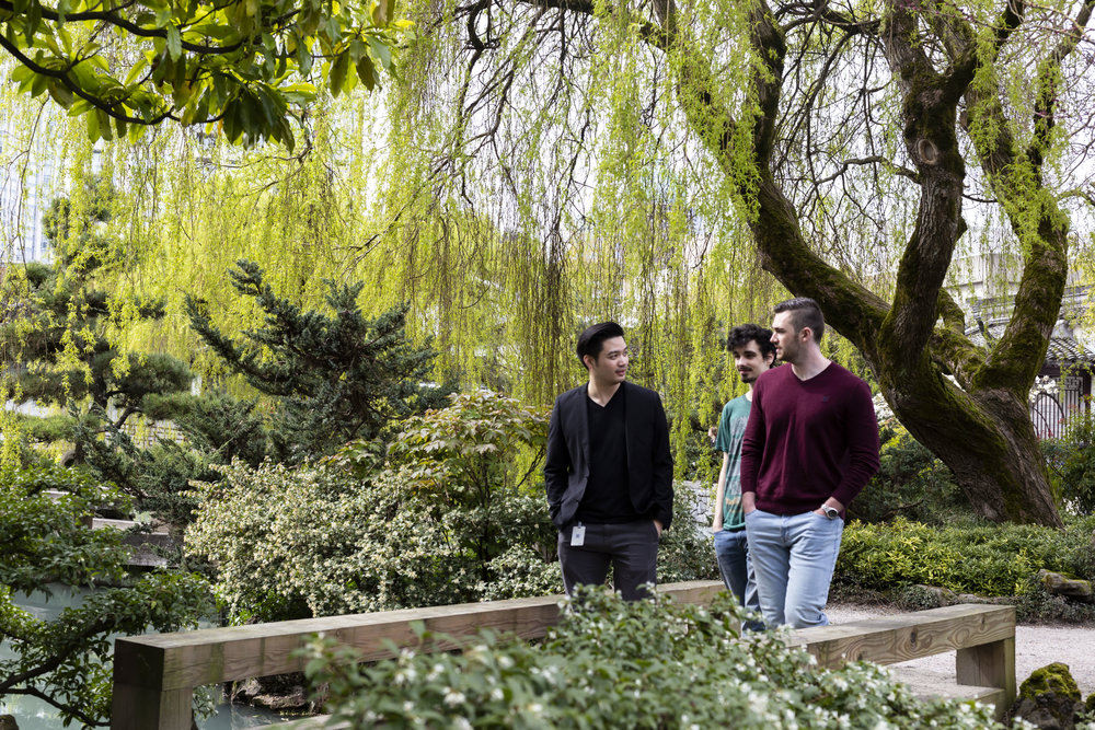 The Classical Chinese Garden across the street is a favourite for walking meetings.