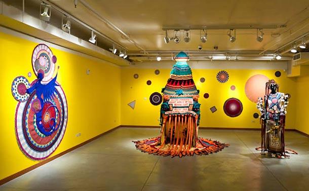 Aesthetics of Funk.  Xenobia Bailey,  2011