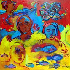 Four at Sea,  Shirley Woodson Reid,  2006