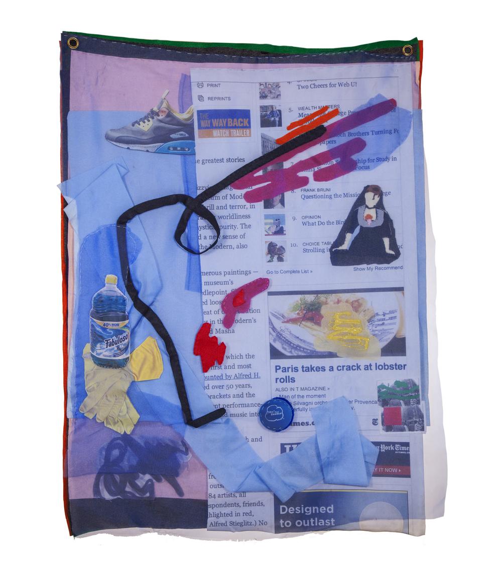 Cache/Cachet, Lucia Hierro,Digital Print on Fabric/Felt/Mixed Fabrics