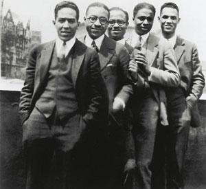 Black writers in Harlem, 1920's