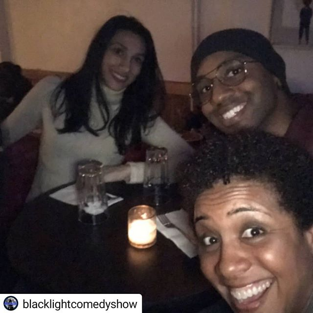 Last night @blacklightcomedyshow was 🔥🔥🔥Thx again to @loisisfunny for the spot. Show is every 3rd Monday of the month. Don't miss the next one Nov 19th @brooklynmoon