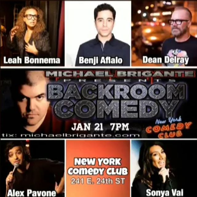 Come warm up with me tonight on this 🔥🔥🔥 show! 7pm @newyorkcomedyclub