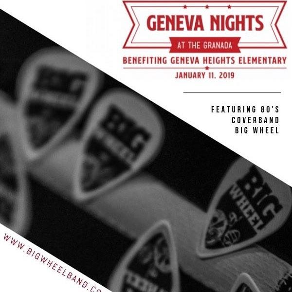 Great Event / Great Cause - January 11, 2019 at the Granada Theater in Dallas!  Tix at PREGENEVA.COM.  #live #livemusic #80s #80smusic #party #friday #2019 #fundraiser #fun #granadatheater #dallas #texas #bigwheel #genevanights2019 #genevaheightselementary