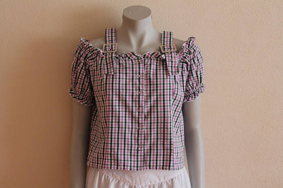 pink and green gingham dirndl top.jpg