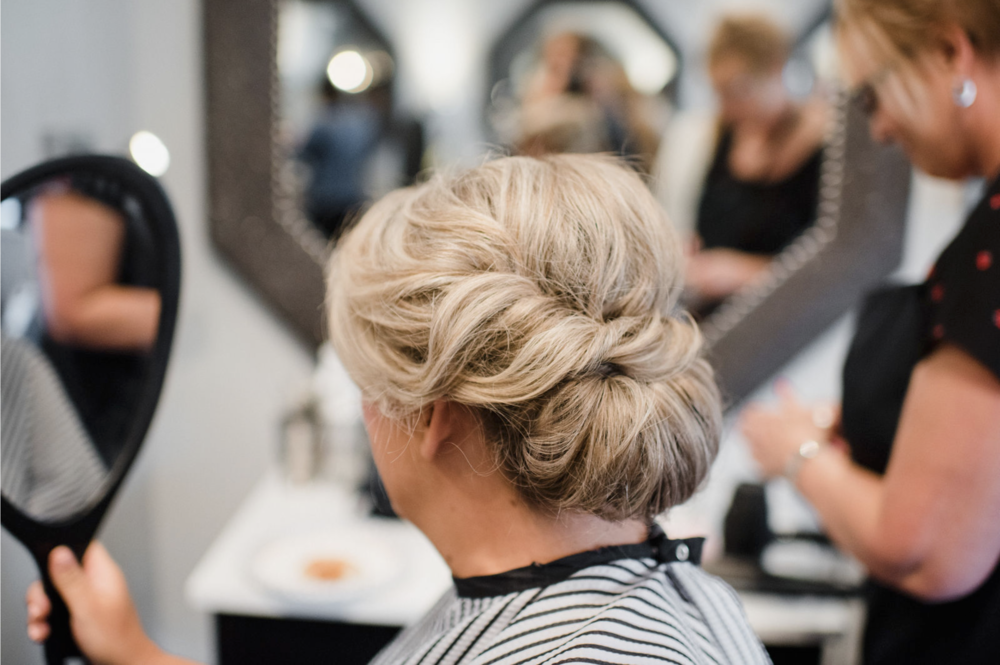 Hair and Makeup: Stella & Shay; Photo: Emily Millay Photography