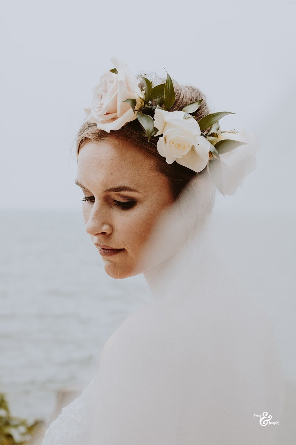 Hair and Makeup: Stella & Shay; Photo: Fields & Freckles Photography