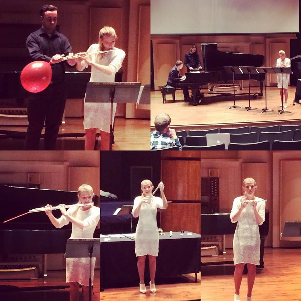 Stacey Russell's lecture recital on the Prepared Flute