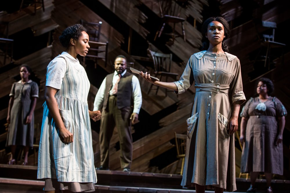 "Photo: Matthew Murphy ""The Color Purple"""