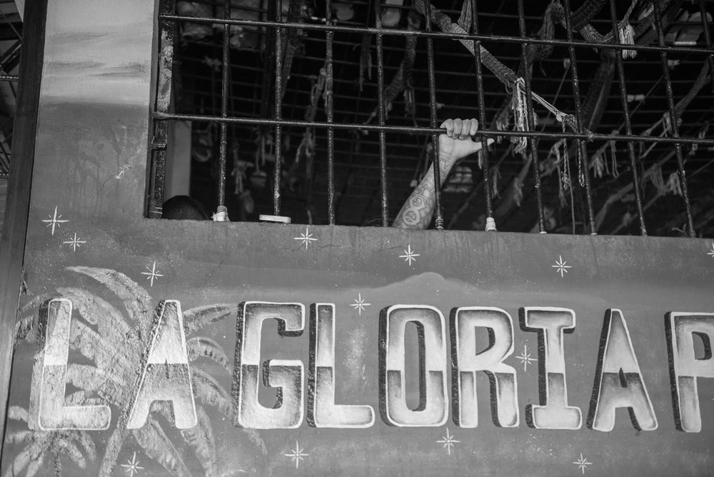 Prisonner at the La Gotera's jail.