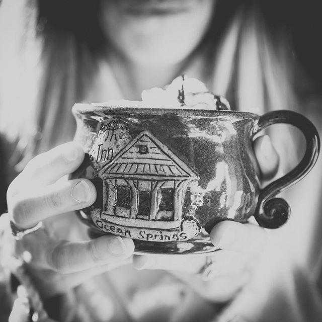 Good Morning 🌿 #oceanspringsinn #morningcoffee