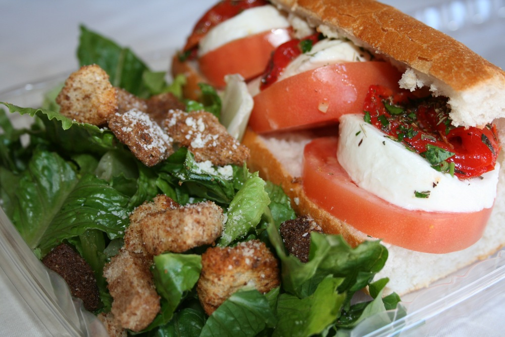 Caprese Sandwich | Marla's Lunch