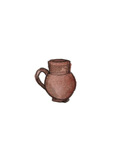 Possibly Elers, Fulham, England   Mug, 1690-1700  Salt-glazed stoneware, 1994.14