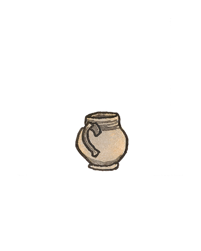 John Dwight (ca. 1636— 1703), Fulham, England   Mug, 1673-1774  Salt-glazed stoneware, 1998.10