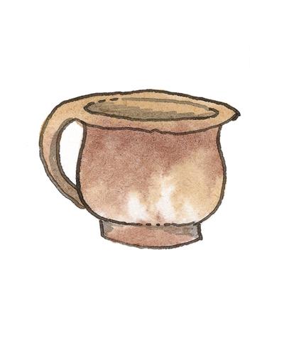 Donyatt, Somerset, England   Chamber Pot, 1680-1700  Lead-glazed earthenware, 1999.7