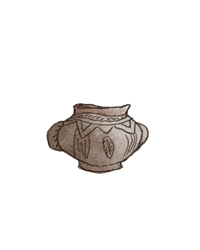 Probably East England   Urn, 6th century  Earthenware, 2004.6