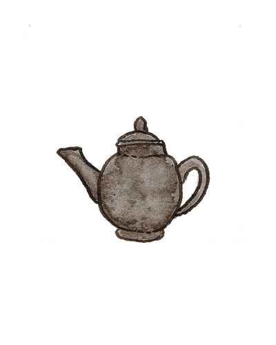 David Elers (1656 - 1742) and John Philip Elers (1664-1738), Vauxhall or Stafforshire, England   Teapot, 1690-1700  Stoneware, enamel, 2004.13