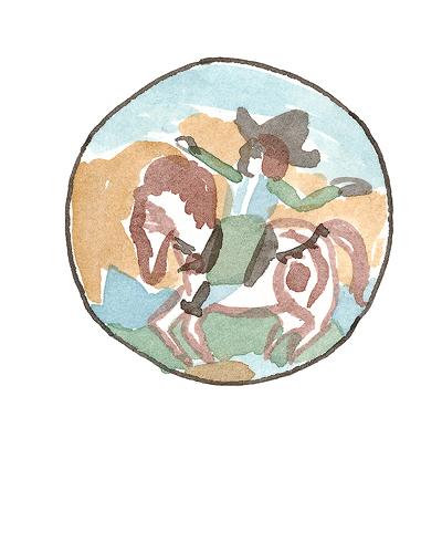 Montelupo, Italy   Charger, 1620-1640  Tin-glazed earthenware, 2006.7