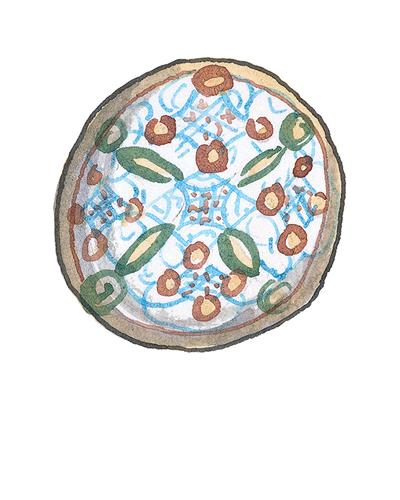 Montelupo, Italy   Charger, ca. 1600  Tin-glazed earthenware, 2015.18