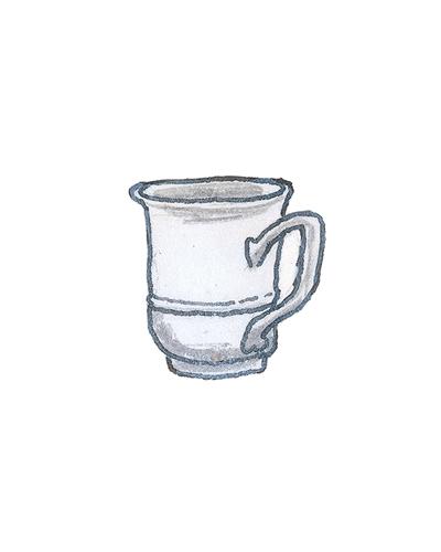 Unknown origin   Capuchine, ca. 1720  Salt-glazed stoneware, 2008.11