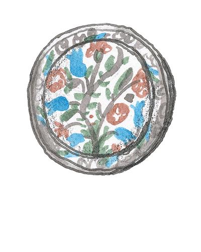 Ottoman Turkey   Dish, 17th century  2015.29