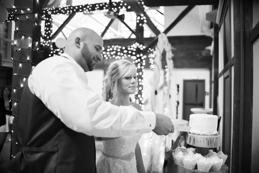 bride-and-groom-cutting-wedding-cake