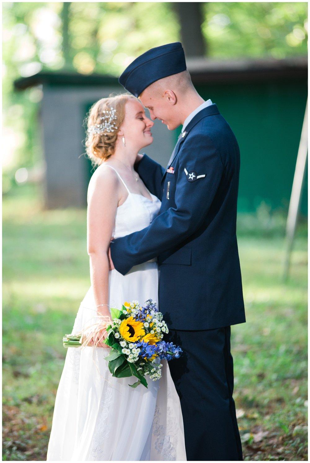Lebanon Wedding Photographer | Fall Wedding | Air Force Wedding