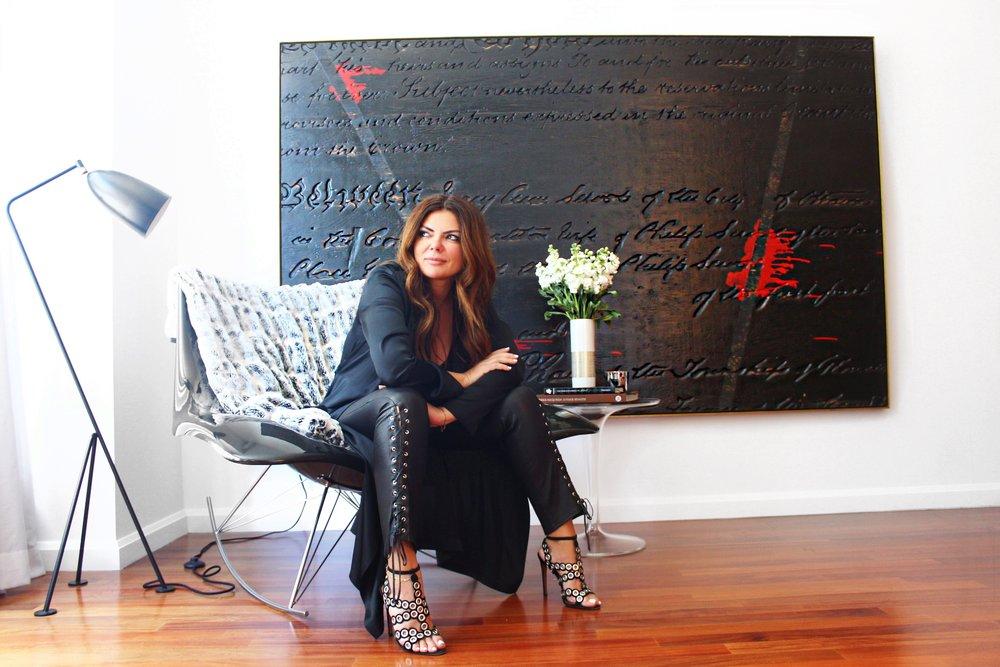Inside Natasha's New York City apartment