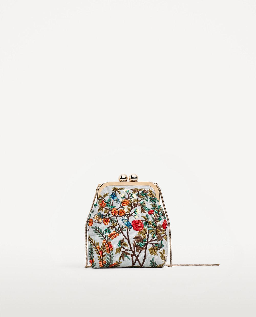 Mini Embroidered Crossbody by Zara - $30