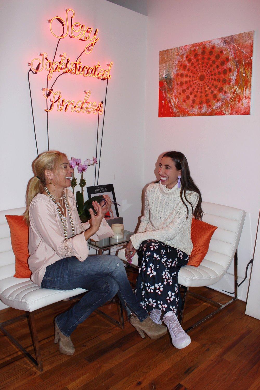 Ramy Brook & Caroline Vazzana