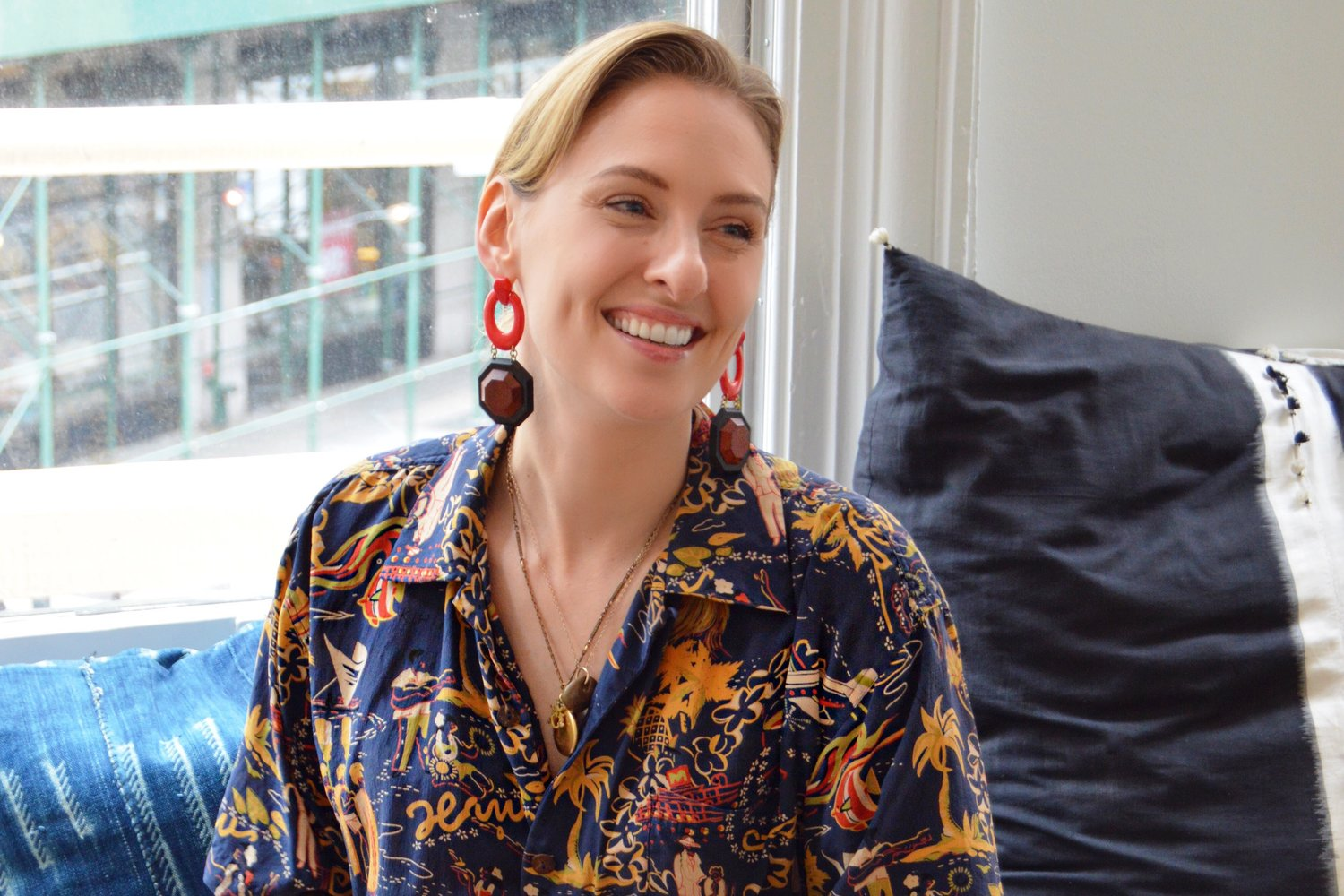 Learn How Lulu Frost Designer Lisa Salzer Took Her Vintage Jewelry Passion And Turned It Into A Business Making It In Manhattan