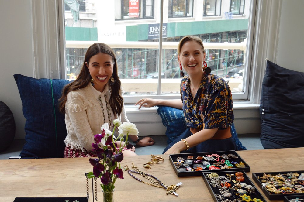 Lulu Frost & Caroline Vazzana