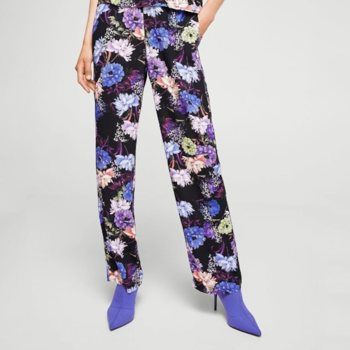 Mango printed pants