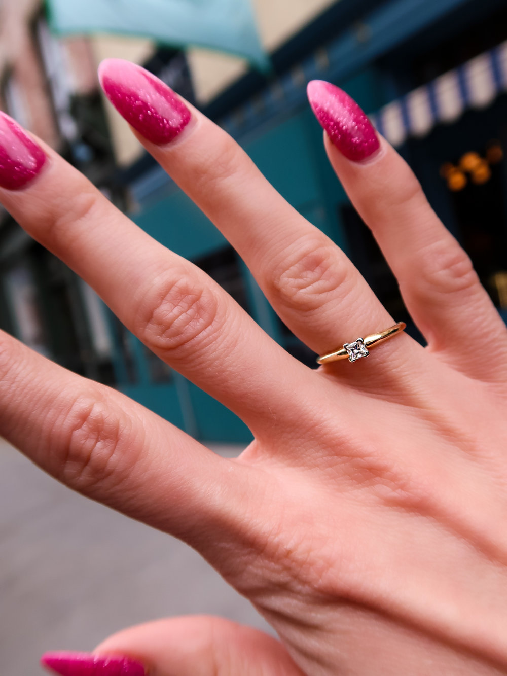 this is why every woman should buy herself a diamond ring