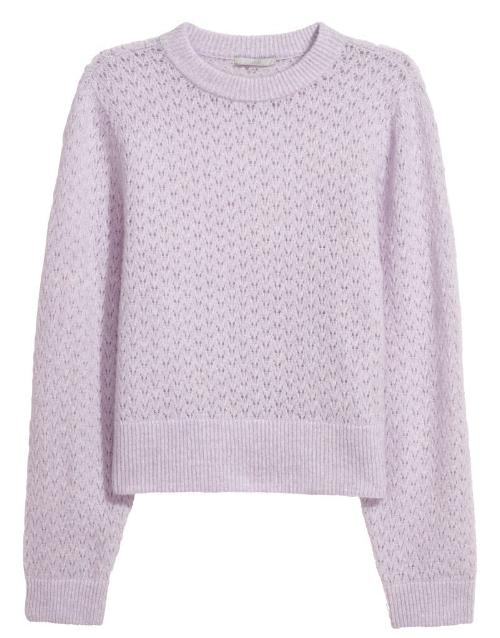 H&M Mohair-blend Sweater, $39.99