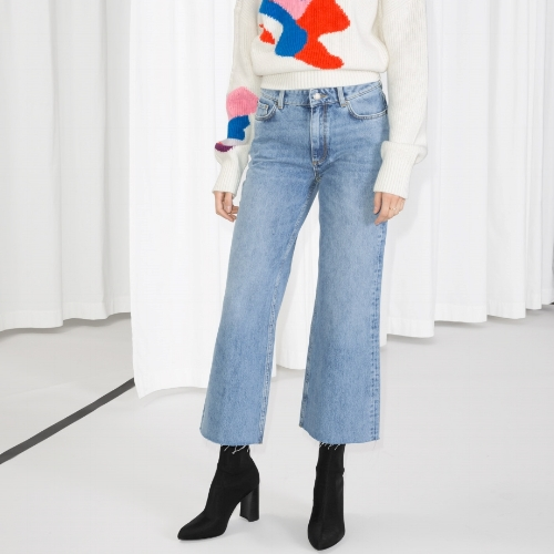 & Other Stories Cropped Flare Jeans, $85
