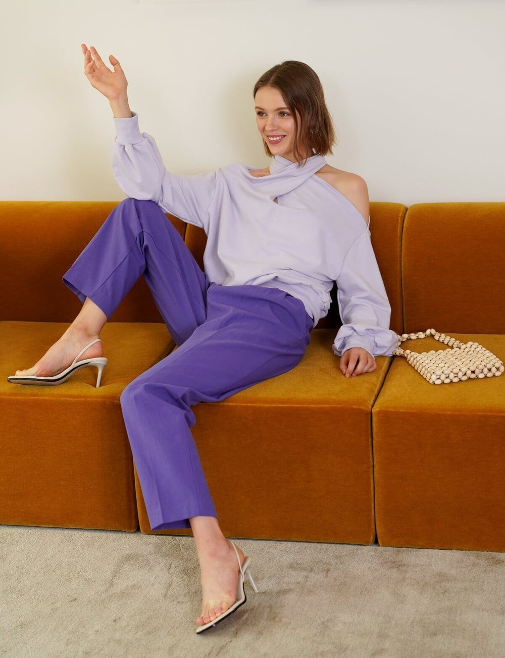 Nico Lavender Sweatshirt, $96
