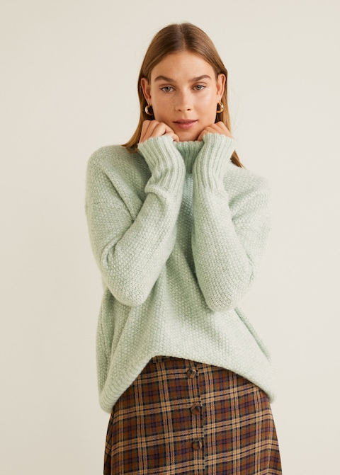 Recycled Polyester Sweater, $59.99