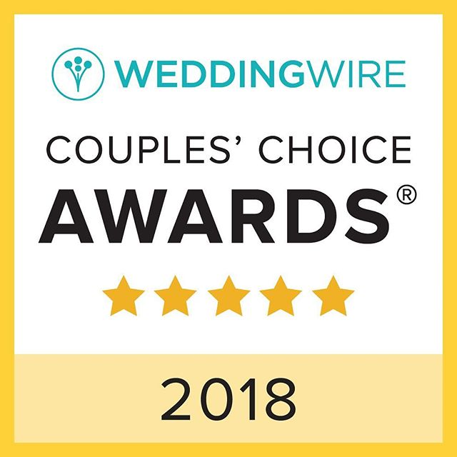 YAASS! So awesome to start the second year of Inner Light Ceremonies by being awarded the Couple's Choice Award for 2018. The honor is given to the top 5% of wedding professionals on Wedding Wire based on real feedback from couples. 🙌🏽✨💜