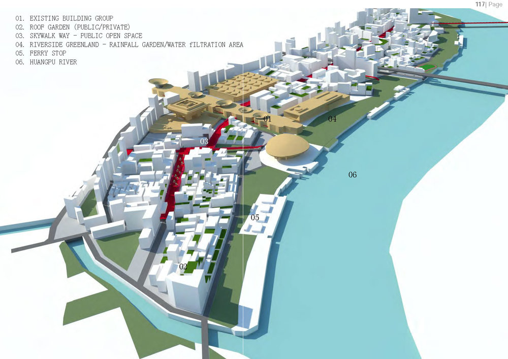 Si Chen, Urban redevelopment of Shanghai Expo site 53, 2012