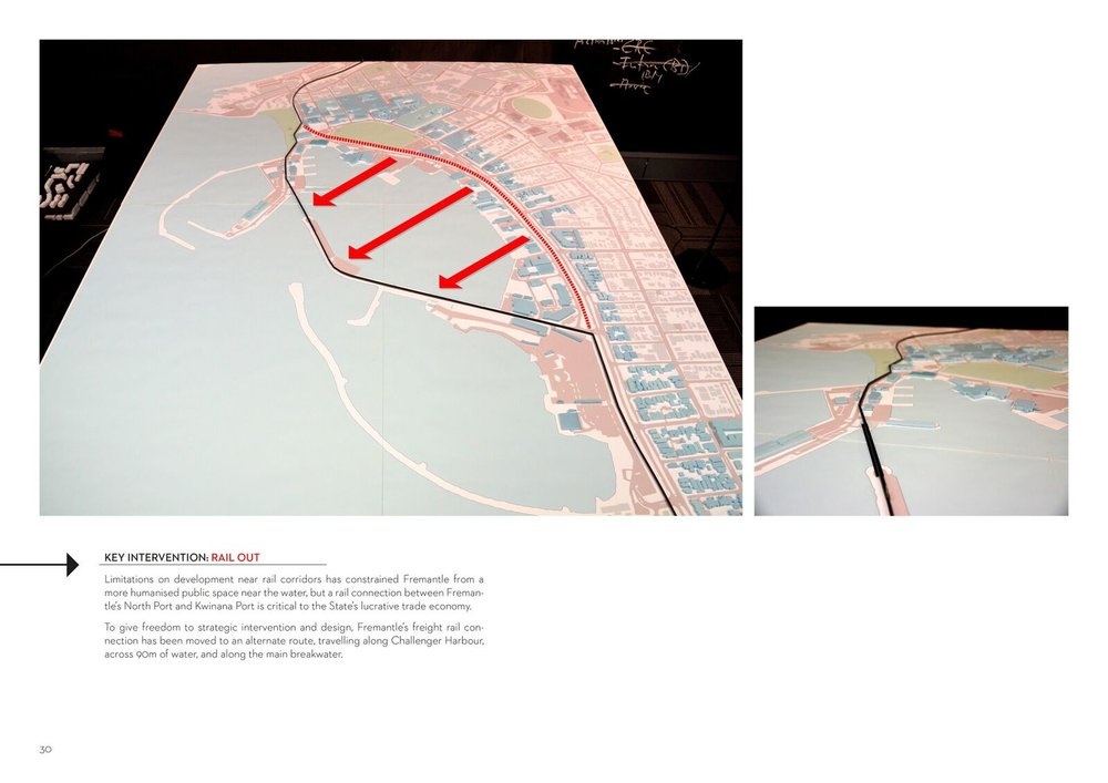 Gareth Ringrose. Master of Urban Design Thesis. 2014. Key Interventions.