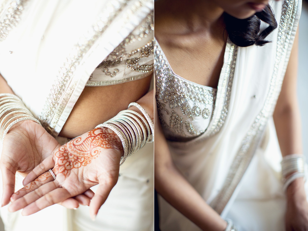 Indian Wedding Details including braclet mehndi