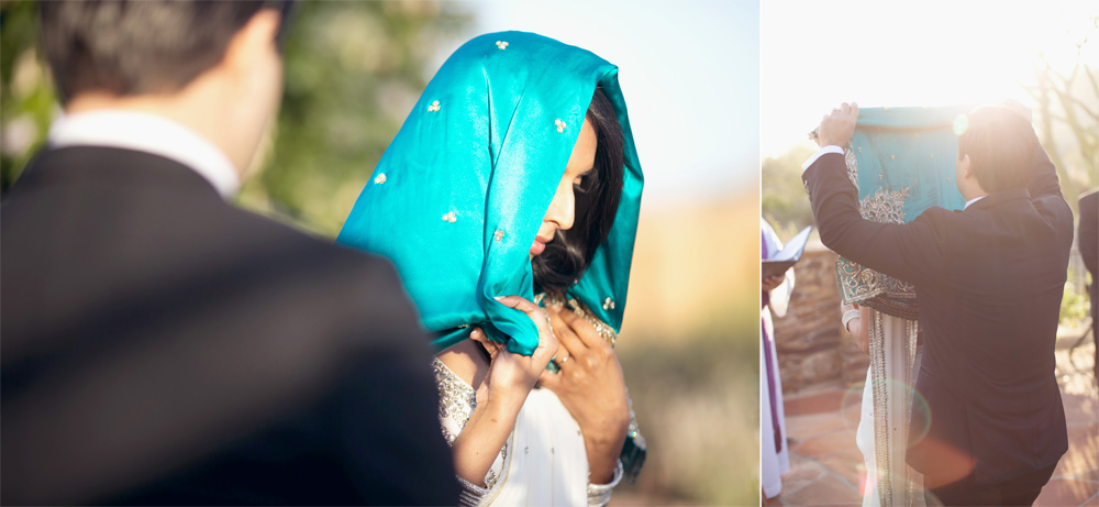 Indian Wedding Tradition Bride and Groom