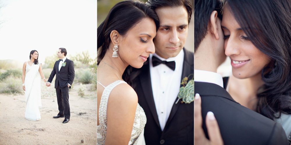 Bride and groom wedding pictures at Sassi Scottsdale