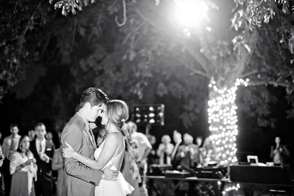 Shelby and Zack's 1st dance at The Farm at South Mountain