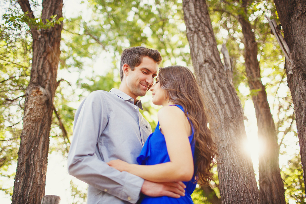 Foxglenn Park Engagement Session Flagstaff Arizona