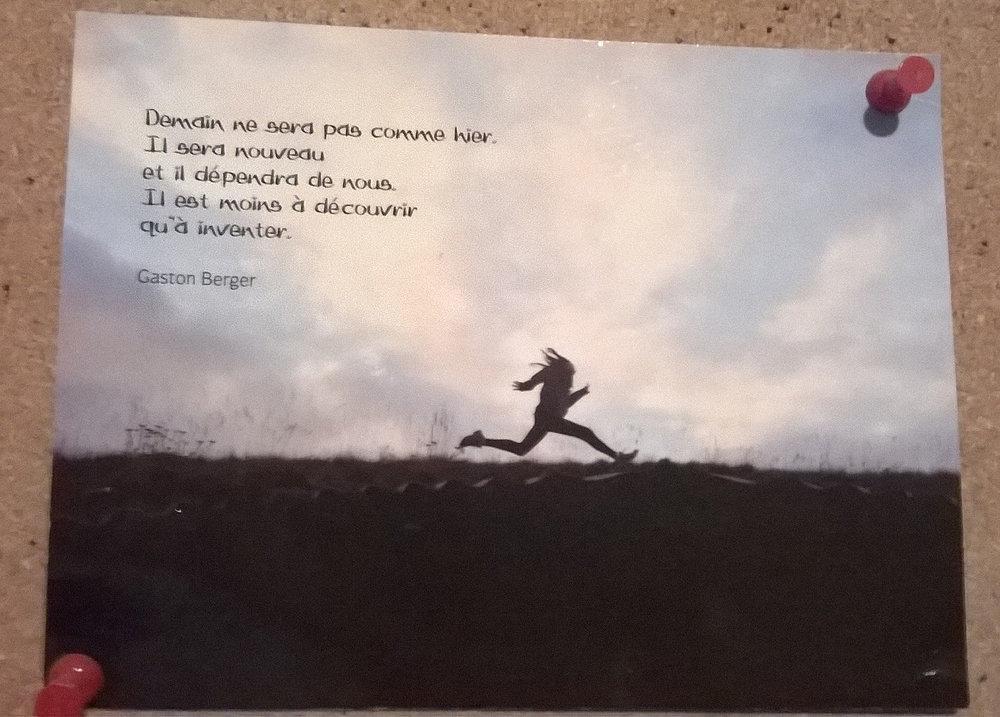 Gaston Berger postcard