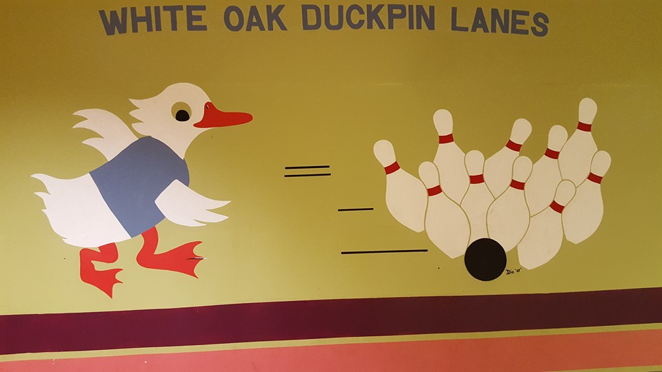 white oak duckpin lanes