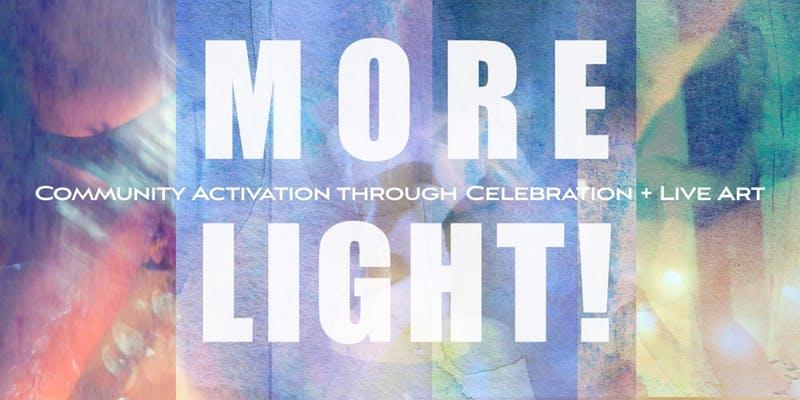 More Light! THE JUDITH STORY - Community Activation through Celebration + Live Art